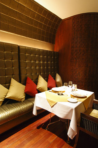 Restaurant's private dining room