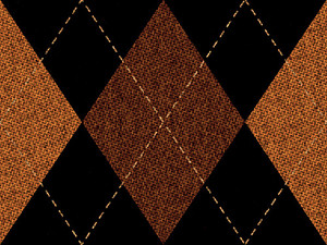 Retro Argyle Fabric Pattern