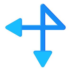 Retro Arrow Design