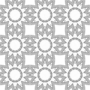 Retro Art Pattern Design