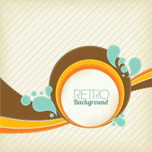 Retro Background Design