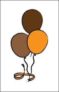 Retro Balloons Set