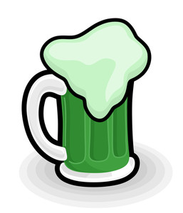 Retro Beer Mug Vector Illustration