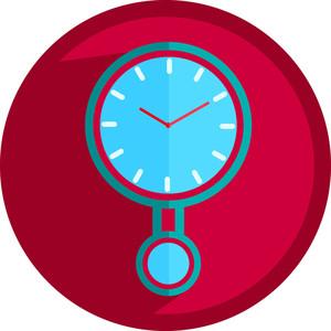Retro Bell Clock