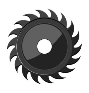 Retro Blade Gear Wheel