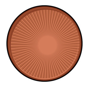 Retro Brown Coin