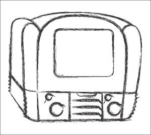 Retro Camera Sketching