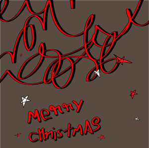 Retro Christmas Graphic