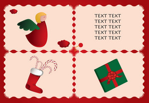 Retro Christmas Icons