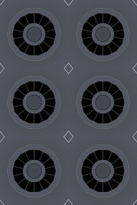 Retro Circles Backdrop