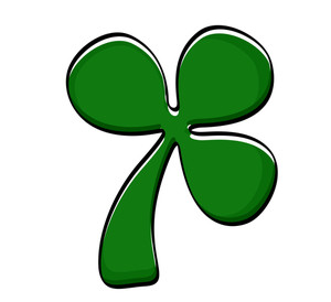 Retro Clover Leaf