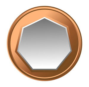 Retro Coin Frame Design