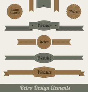 Retro Design Elements