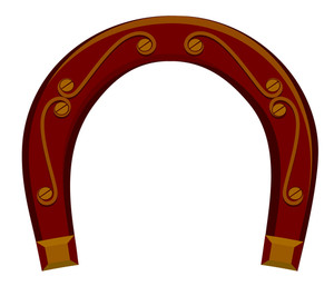 Retro Design Horseshoe