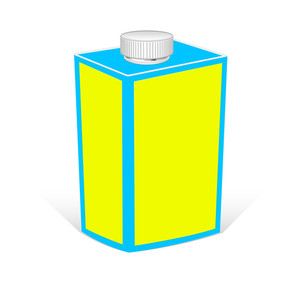 Retro Drink Bottle Vector