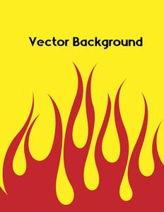 Retro Fire Background