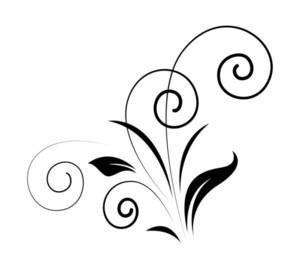 Retro Flourish Elements Vector Design