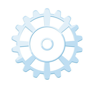 Retro Gear Wheel Design