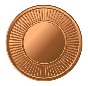 Retro Gold Coin