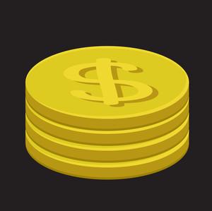 Retro Gold Dollar Coins Collection
