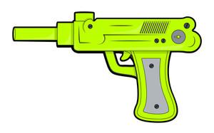 Retro Green Gun
