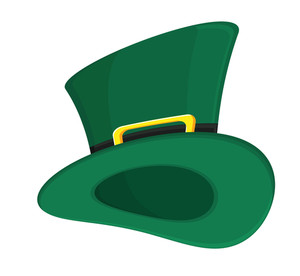 Retro Green Leprechaun Hat