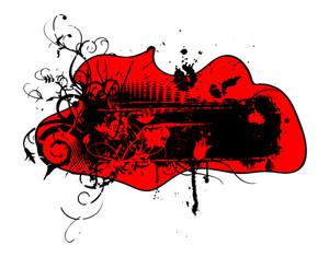Retro Grunge Banner Design