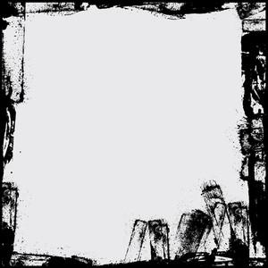 Retro Grungy Frame