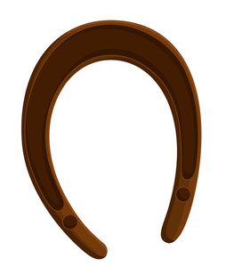 Retro Horseshoe