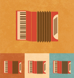 Retro Icons - Accordion