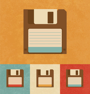 Retro Icons - Floppy Disk