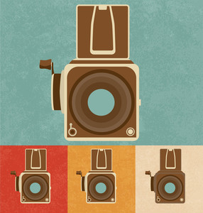 Retro Icons - Old Camera