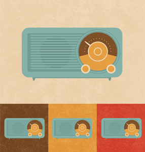 Retro Icons - Old Radio