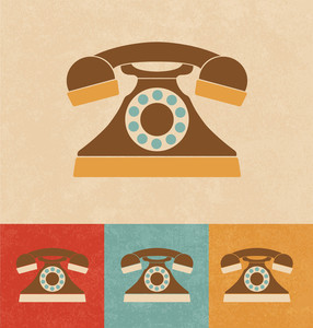 Retro Icons - Telephone