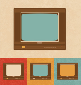 Retro Icons - Television Set