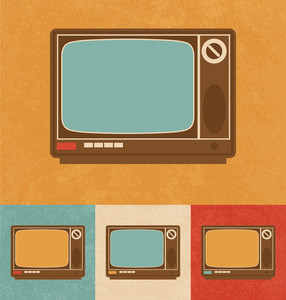 Retro Icons - Television Set