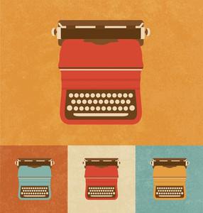 Retro Icons - Typewriter