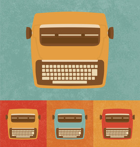 Retro Icons - Typewriter