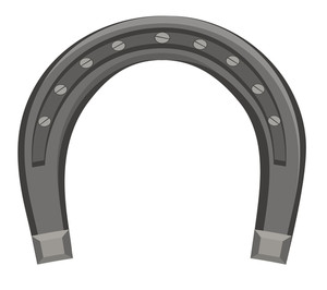 Retro Iron Horseshoe