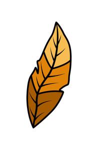 Retro Leaf Shape