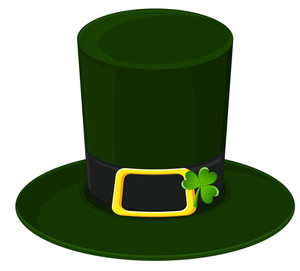 Retro Leprechaun Hat With Shamrock