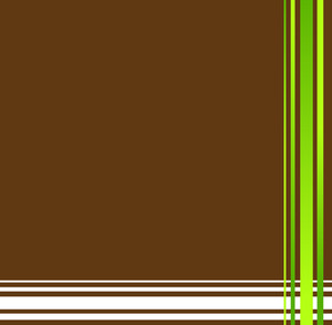 Retro Lines Corner Frame Background