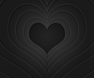 Retro Love Story Black Background