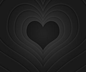 Retro Love Story Black Background
