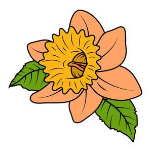 Retro Macro Wild Flower