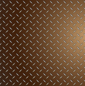 Retro Metallic Diamond Plate
