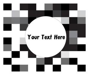Retro Mosaic Pattern Banner