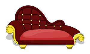 Retro Old Style Sofa