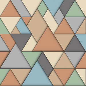 Retro Origami Background