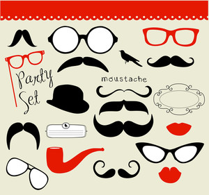 Retro Party Set - Sunglasses